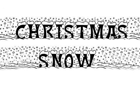 冬天来啦!33款冰雪字体下载