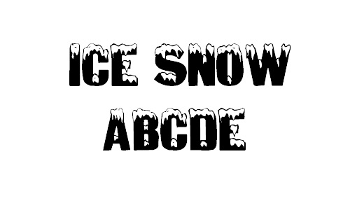 26-ice-covered-snowy-snow-free-fonts