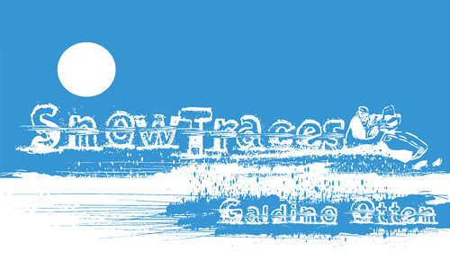 4-traces-snowy-snow-free-fonts