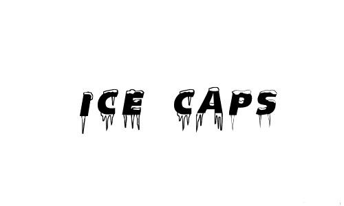 6-ice-caps-snowy-snow-free-fonts