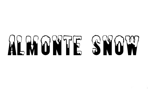8-almonte-snowy-snow-free-fonts