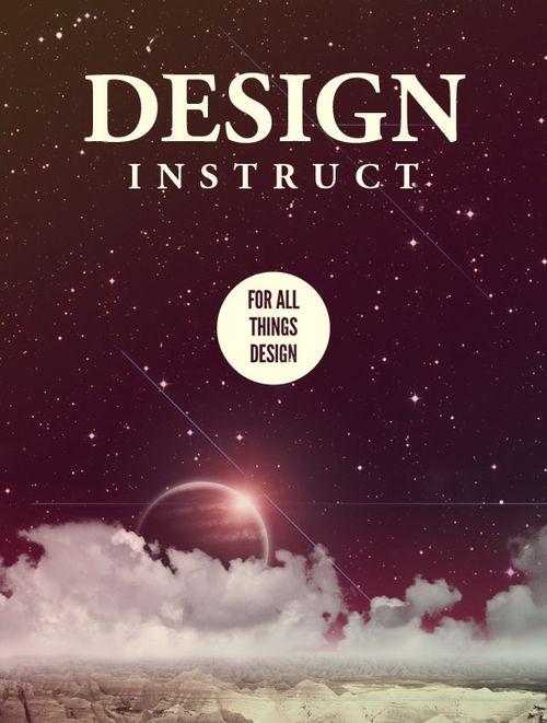 32个绚丽的海报设计教程