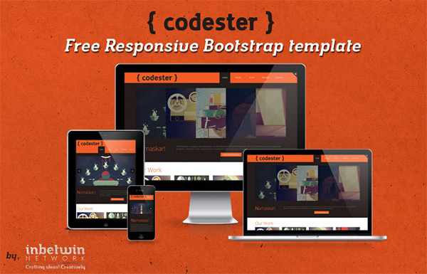 Codester in 23 New and Free HTML5 Templates