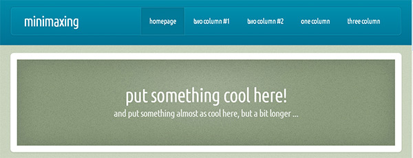 Minimaxing in 23 New and Free HTML5 Templates