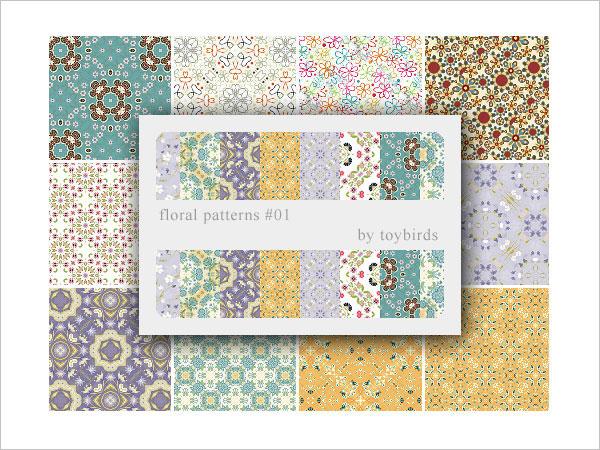 Floral Patterns 01