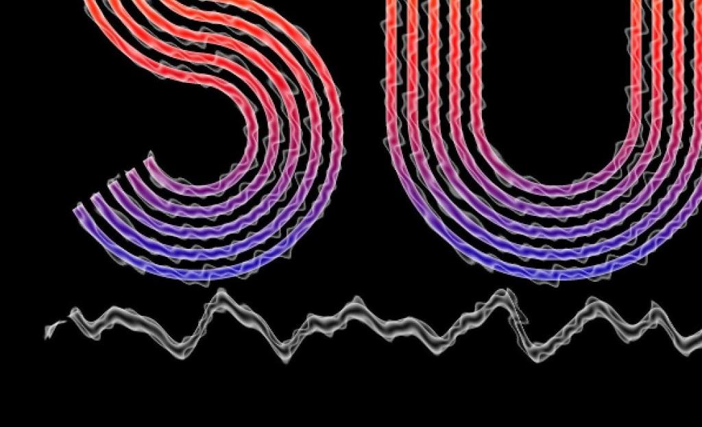 PS教程:教你打造霓虹电波文字特效