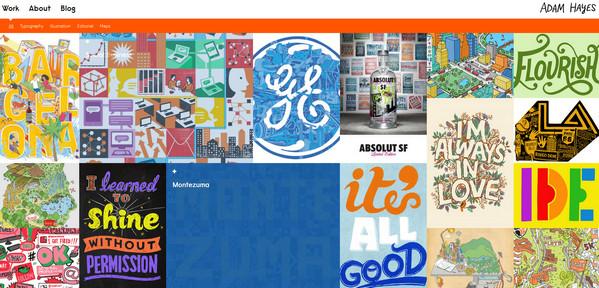 超赞!26个精彩的网格布局网站欣赏