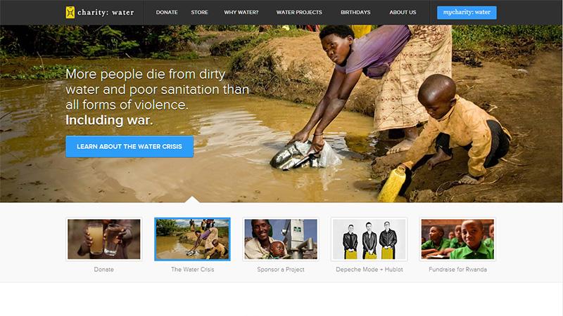 推荐!40个慈善及非营利组织官网欣赏