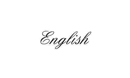 30个漂亮优雅的婚礼英文字体