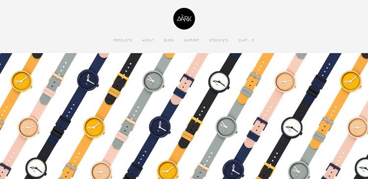 50个超赞的简约时尚的电商网站设计