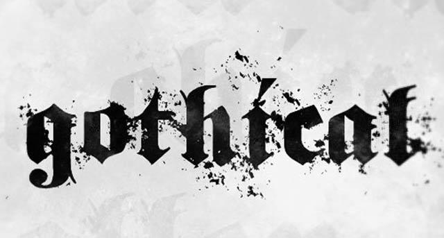 35款黑暗神秘的哥特式字体免费下载