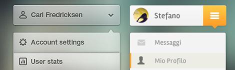 65个免费新鲜的下拉选择框PSD下载 - 优设-UISDC