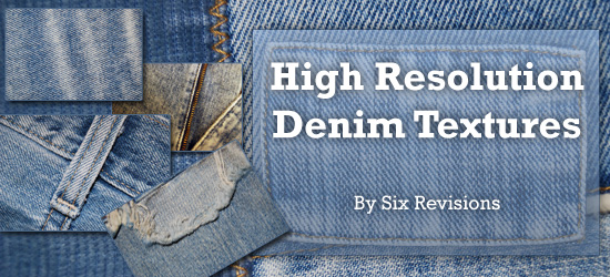 20 High Resolution Denim Textures - leading image.