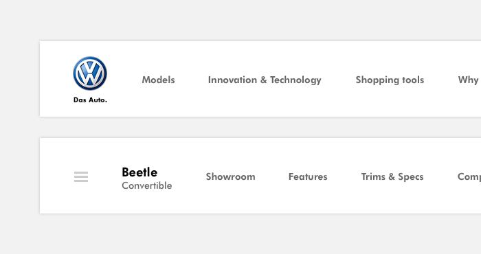 案例推荐!Behance上超火的大众官网重设计