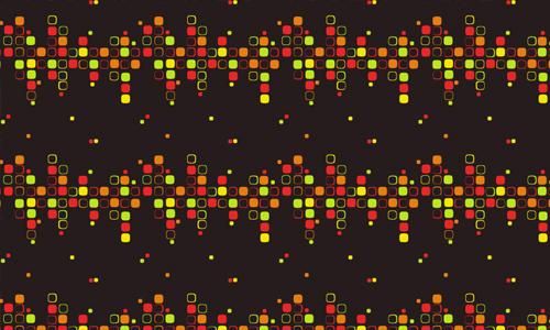 超赞!上千套华丽丽的点、线、面纹理大集合