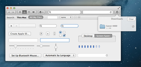 Free Mountain Lion UI Kit for Sketch by Michael Chen in 35 Fresh, Free and Flat UI Kits