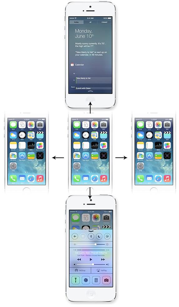 iOS7视觉/交互设计测试讲解