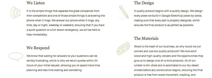 满足四大要素!让网页设计中图标更有吸引力
