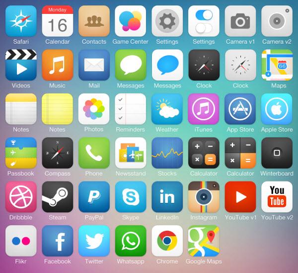 10款免费高质的IOS 7必备资源