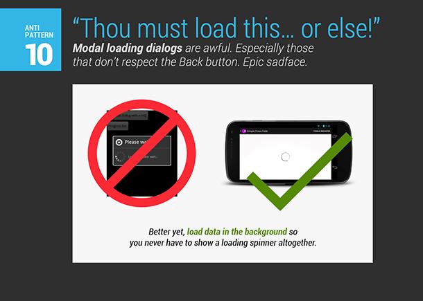 Android应用中十大常见UX错误