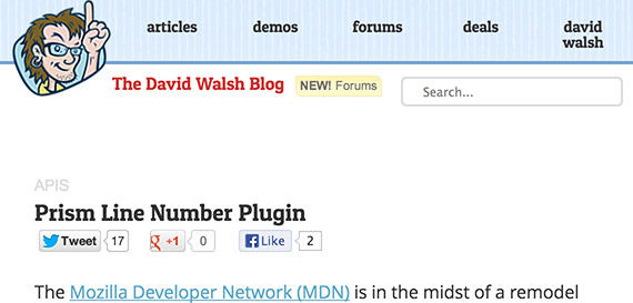 david-walsh-web-design-blog-top-blogs-follow