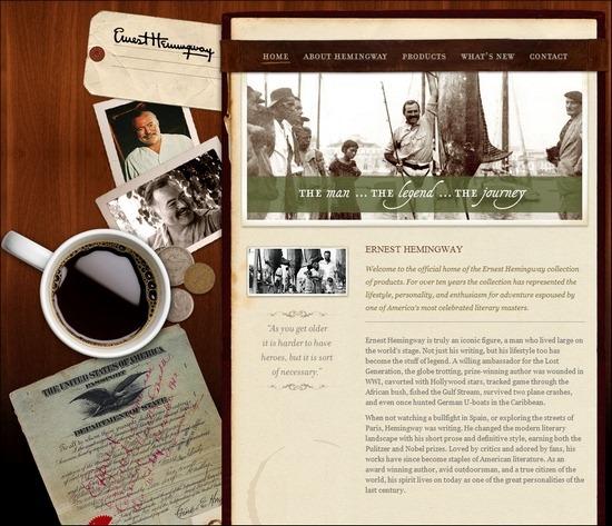 暗黄色的回忆:70个复古网站欣赏