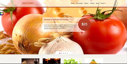 推荐!6招教你学做餐饮美食类网页设计