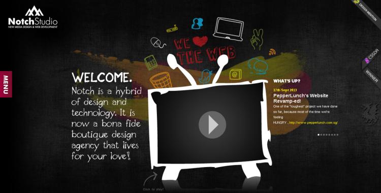 10大创意教你玩转网站背景设计