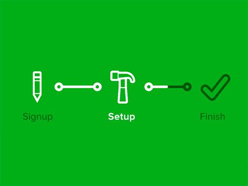 设计师福利!50个创意进度条优秀设计(附PSD下载)
