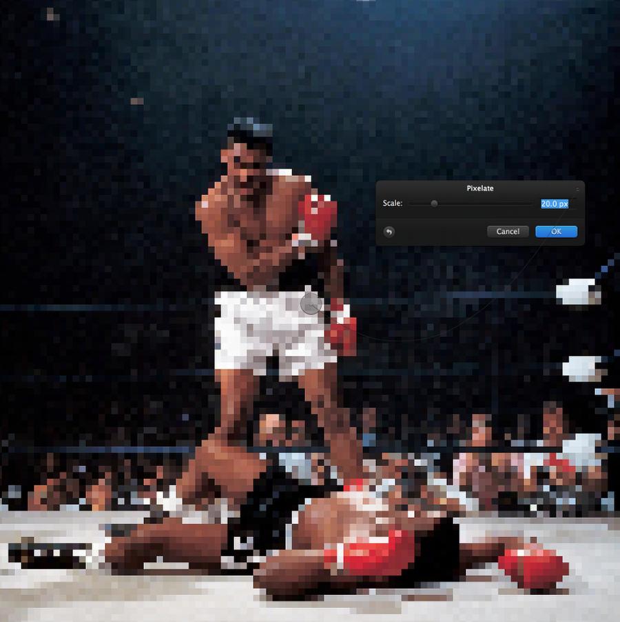 Pixelmator像素艺术教程:怒吼阿里