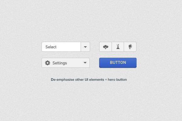 还在担心按钮设计吗?来看看这十条基本准则