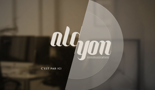 Alcyon Communication in Collection of 50 Modern Websites in Dark Style