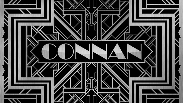 Art Deco Name Tag by Alec Connan in Showcase of Art Deco Typography