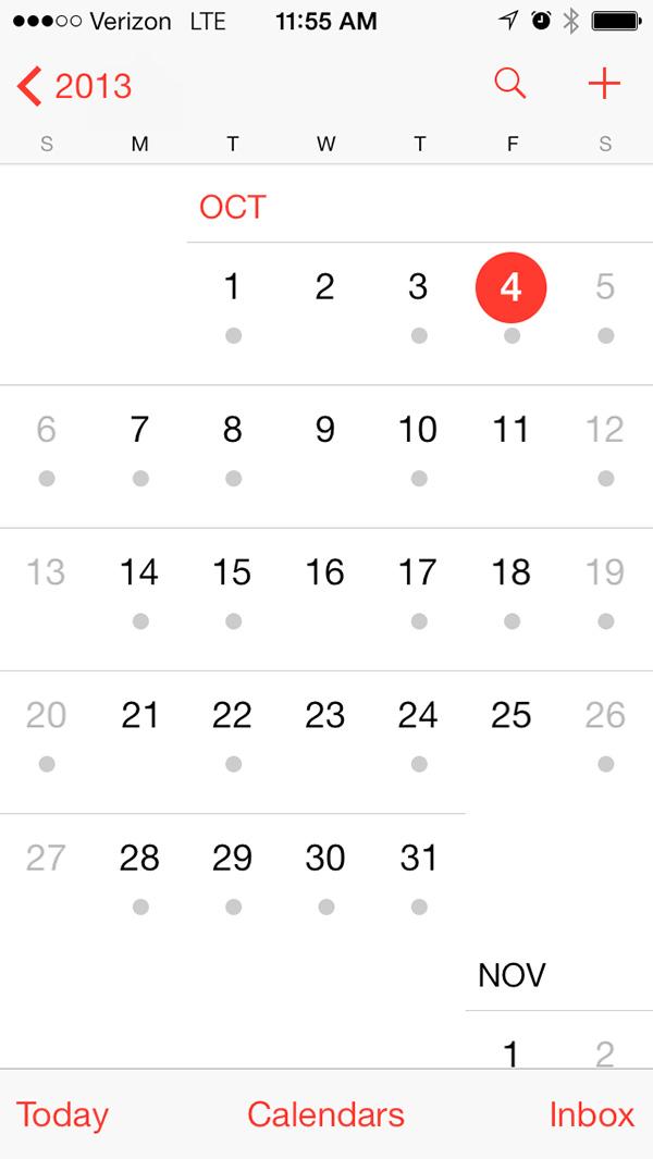 你的App该变身了!iOS7设计指南