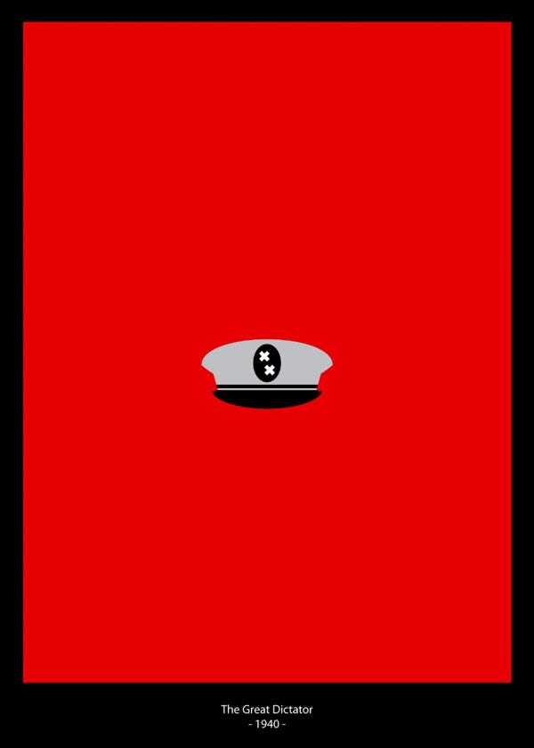 超赞!一组热门美剧的极简海报设计