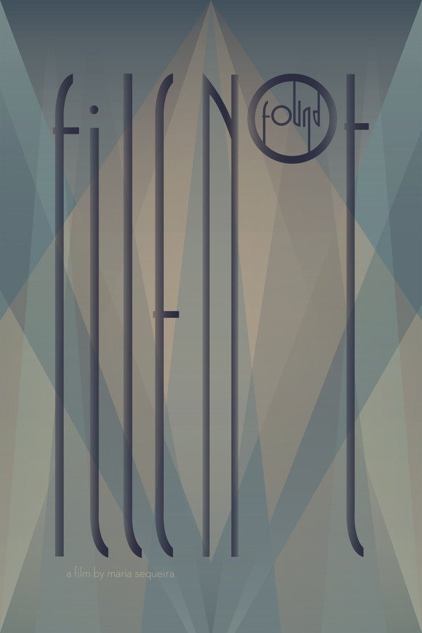 Poster Design by Passent Saad in Showcase of Art Deco Typography