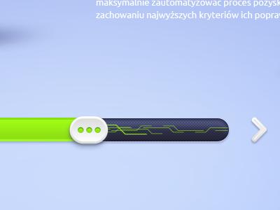 Slider progress bar by Elastika in 40 Progress Bar Designs for Inspiration