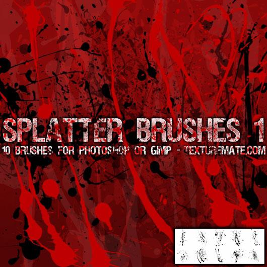 Splatter Brushes 1