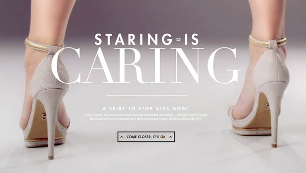 Staring is Caring