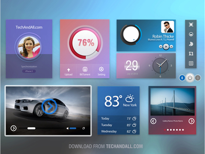 UI Kit by Rubayath in 27 Fresh UI Kits for October 2013