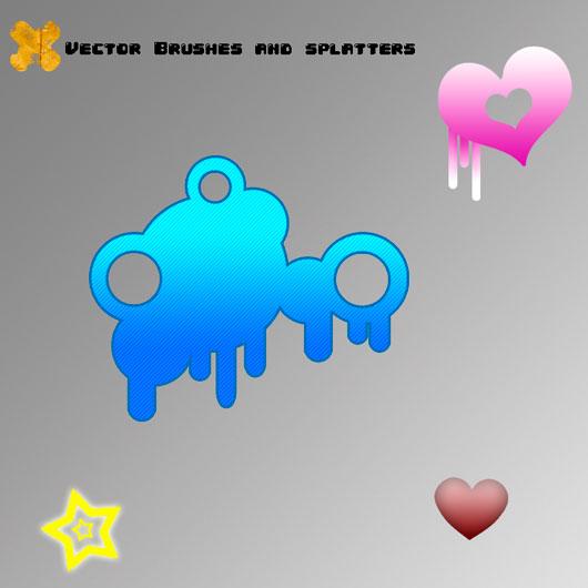 Vector-Splatter Brushes 6.0