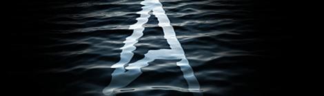 PS教程:创建漂亮的水纹特效字体 - 优设-UISDC