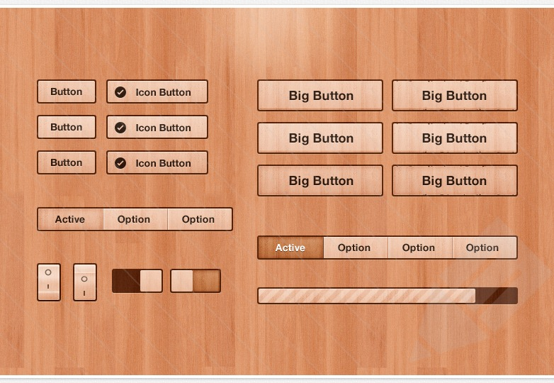 Got Wood UI Kit