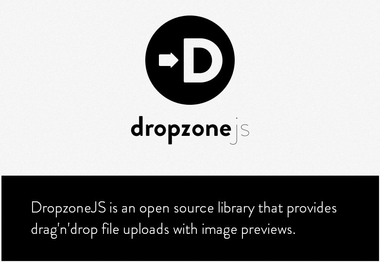 DropzoneJS Library