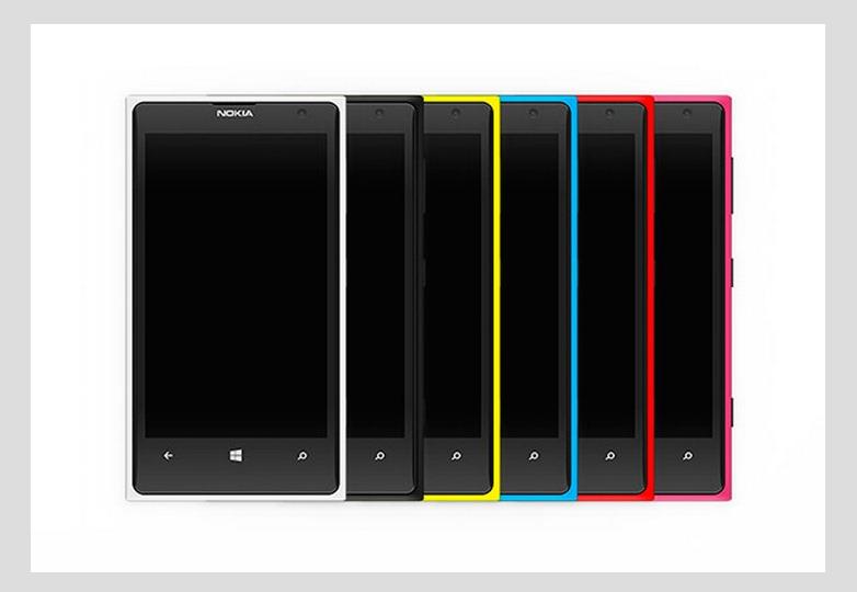Nokia Lumia 1020 Mockups