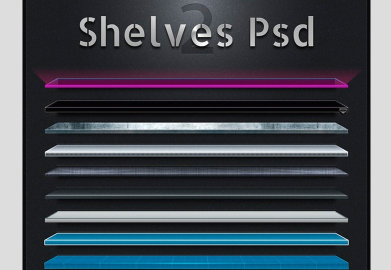 Shelves PSD