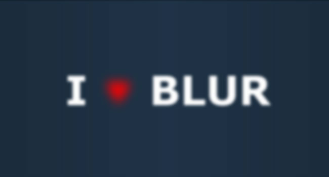 blur-effect-codepen