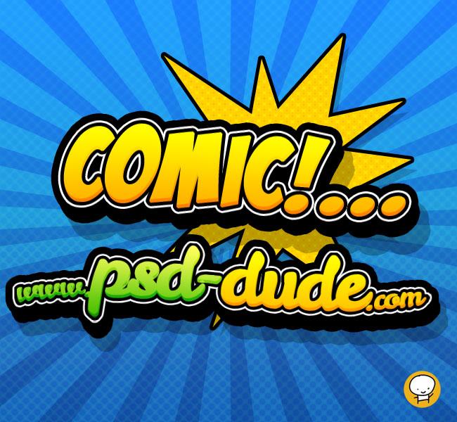 视觉冲击力超强!用PS快速打造漫画风格字体