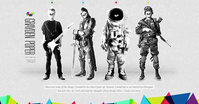 40个漂亮的单页网站设计欣赏