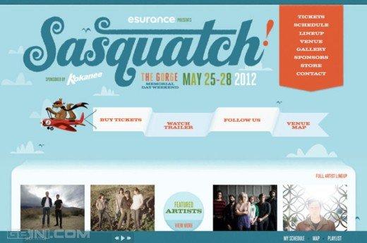 2012 Sasquatch Music Festival!